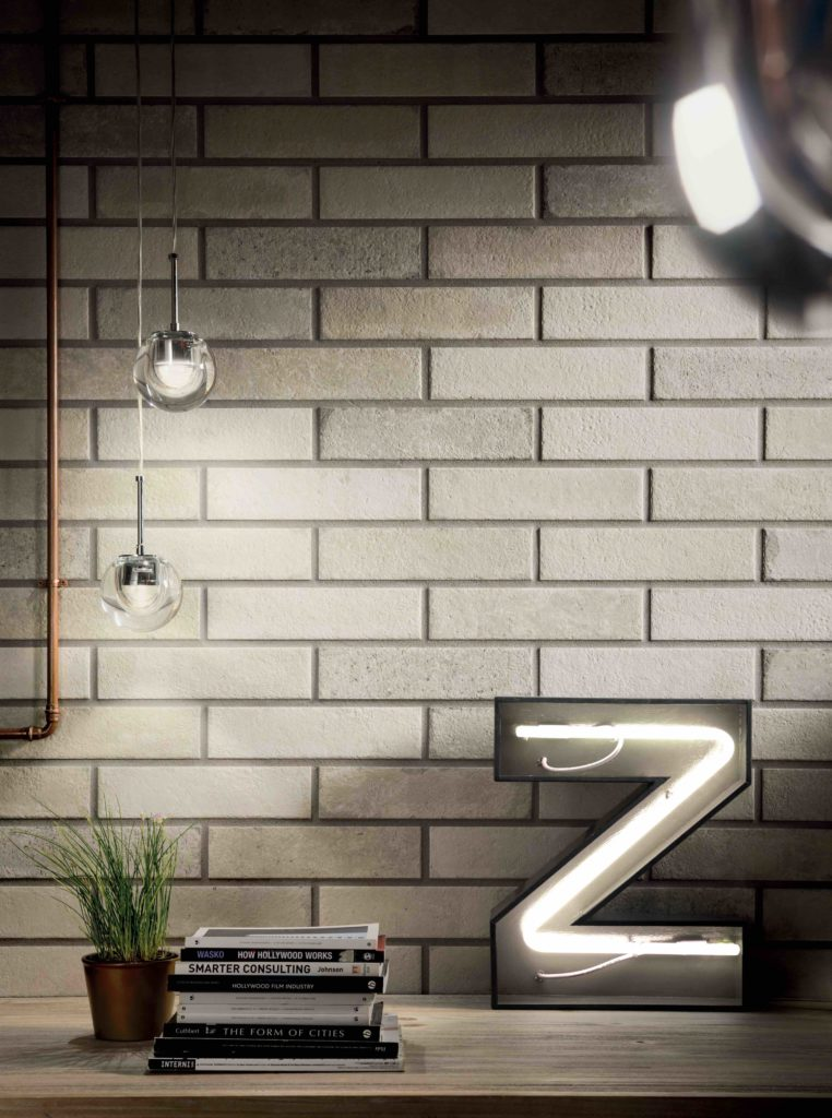 Marca Corona Brick Lane Ristorante Bianco 7,5x30 023
